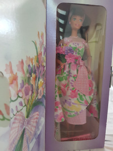 Avon Special Edition Spring Petals Barbie Doll Second in Series