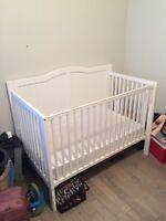 Nice Used Convertable Crib made by Stork Craft