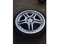 5 X 112 19 alloys AMG Mercedes brabus van alloys wheels