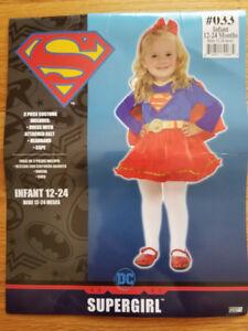Halloween Costume 12-24 Months. Supergirl