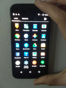 Moto X Smart Phone. Great if you need an inexpensive phone quick