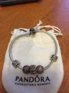 Pandora bracelet, three charms - as is or individual pieces
