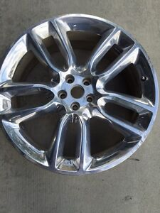 "2 - Ford Edge Sport 22"" Chrome Rims Only"