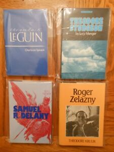 Science Fiction and Fantasy Author Biographies -Big lot of books