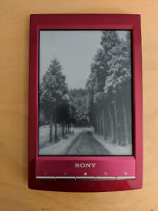 Sony PRS-T1 eReader (red)