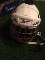 Mend rbk 8k white hockey helmet medium