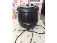 Electric soup cauldron