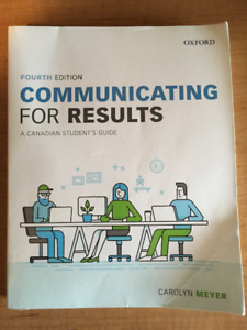Textbook - Communicating For Results Fourth Edition