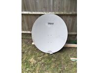 1.1 meter Triax Satellite Dish