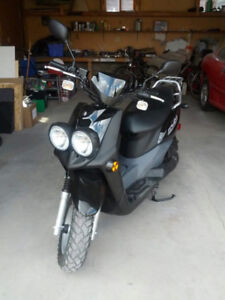 STOLEN Yamaha moped scooter yw50 black in TEMPLE NE!