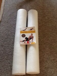 Two Foam Exercise Rollers