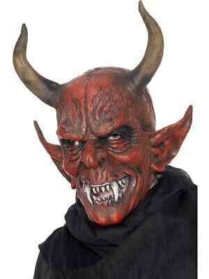 Teufelsmaske Teufel Satan Maske Halloween zum - Satan Teufel Kostüm