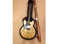Gibson custom shop 1959 es330 left handed lefty LH epiphone casino mint