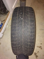 255/45r20/101h winter tires in great condition