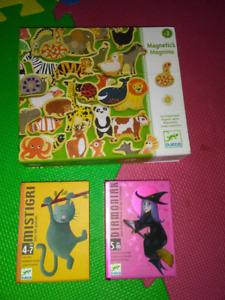Jeux societe 2 jeux de carte un jeux aimant