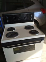 Fridge and stove to give away On hold till monday night.