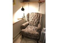 Reading arm chair for sale