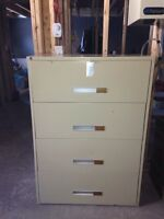 "Filing Cabinet- ""Legal"" Document Size - dimensions= 4'x5'x2'"