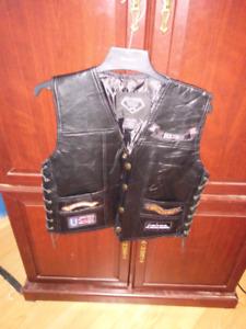 Veste de moto sans manche small