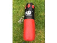 BBE punchbag and speedball