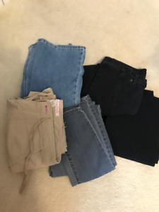 5 Brand Name Women's Jeans