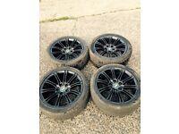 BMW bbs mv2 genuine 18 inch alloy wheels