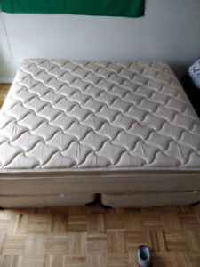 King size bed and 2 box springs