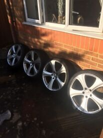 Wheels, Tyres, set of 4