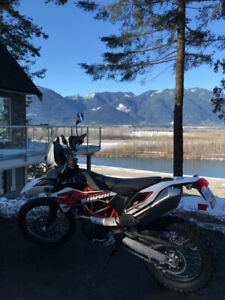 2016 KTM 690R  only 867kms!