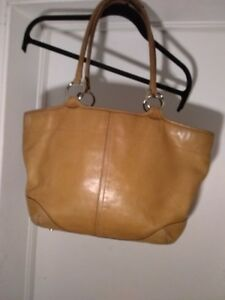 COACH Cowhide Leather Bleecker Large Tote Bag #5167