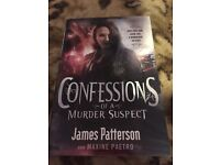 James Patterson- confessions of a murder suspect