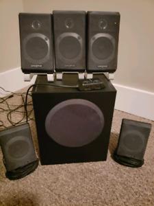 Creative 5.1 surround sound