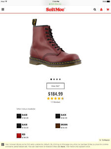 NEW Doc Martens : Size 13 : cherry red 1460 smooth NEVER WORN