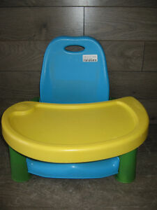 Booster seat with meal tray (Safety 1st)