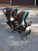 Graco Double Stroller - GREAT CONDITION