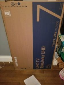Brand new in the box 55in 4K Samsung TV