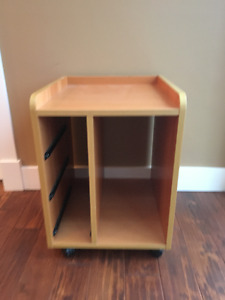 Ikea printer table and filling cabinet set