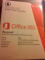 Microsoft office software 1 year subscription brand new