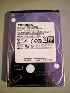 Toshiba MQ01ABD050 500GB HDD