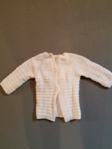 0-6 month old sweater crochet