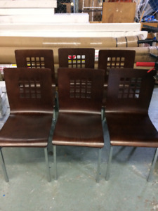 Moulded Wood Chairs