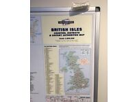 Framed and Laminated UK Sales & Marketing Map