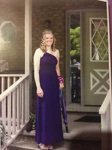 Beautiful Purple Prom Dress