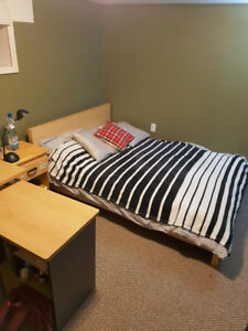Bedroom for Rent from May 1 - August 31