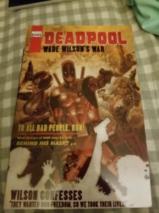 Deadpool Wade Wilson War Graphic Novel
