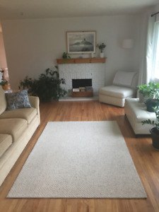 Weekly house rental during winter months