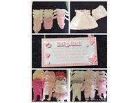 Huge 68 piece baby girl clothes bundle newborn - 3 months