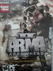 Trading ARMA 2 - Operation Aerohead. Best military fps simulator