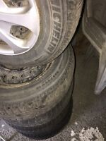 Michelin X Ice 205 65 15 GREAT DEAL WINTER TIRES & RIMS