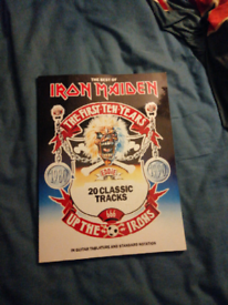 Iron Maiden guitar book